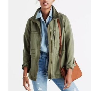NEW Madewell | Olive Green Utility Jacket